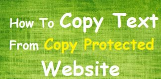 How To Copy Text Data From Copy Protected Website In Chrome Browser