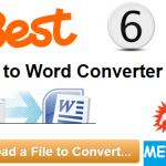 Free PDF To Word Online Converter