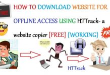 How To Download Website For Offline Access Using HTTrack