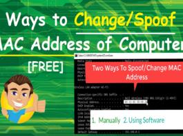 Change MAC Address Mac