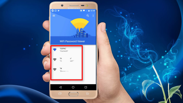 See WiFi Password On Android Phone