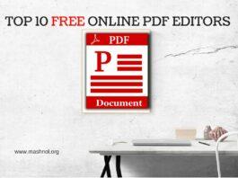 Best FREE online PDF Editors