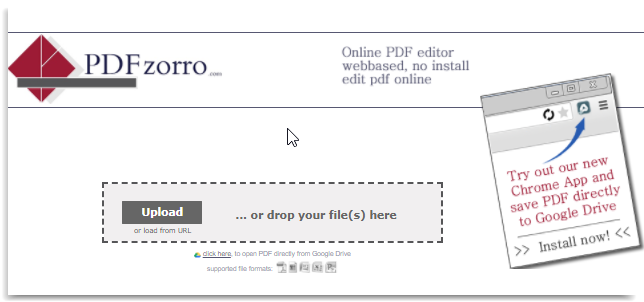 online pdf editor for free