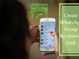 Create WhatsApp Group Invitation Link Join Admin