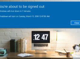 Schedule Automatic Shutdown Timer In Windows 10
