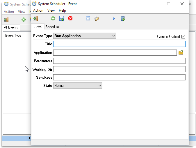 System Scheduler windows task scheduling software