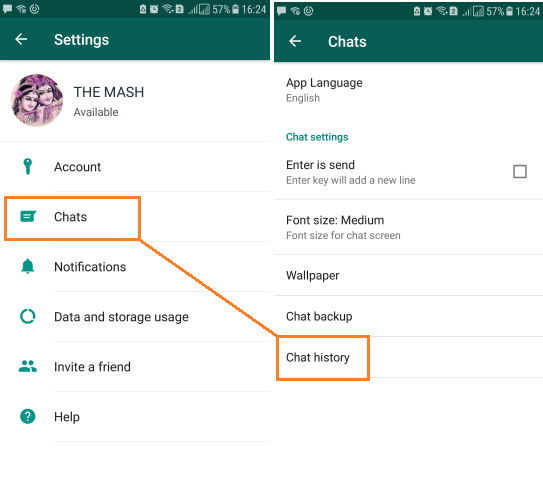 Convert WhatsApp Chat into Text Readable Format