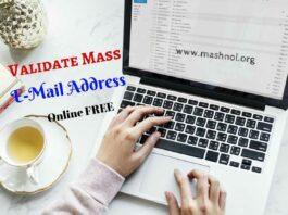 Verify Email Address online Free Validate