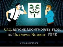 call anyone from Unknown Number Spoof Fake call