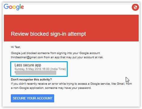 Enable or Allow Less Secure Apps to Access Your Gmail Account