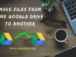 How to move or transfer files or folder from one Google Drive to Another