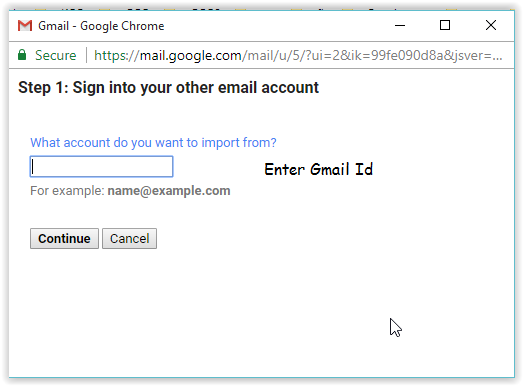 Migrate Emails from one Gmail account to another Gmail account