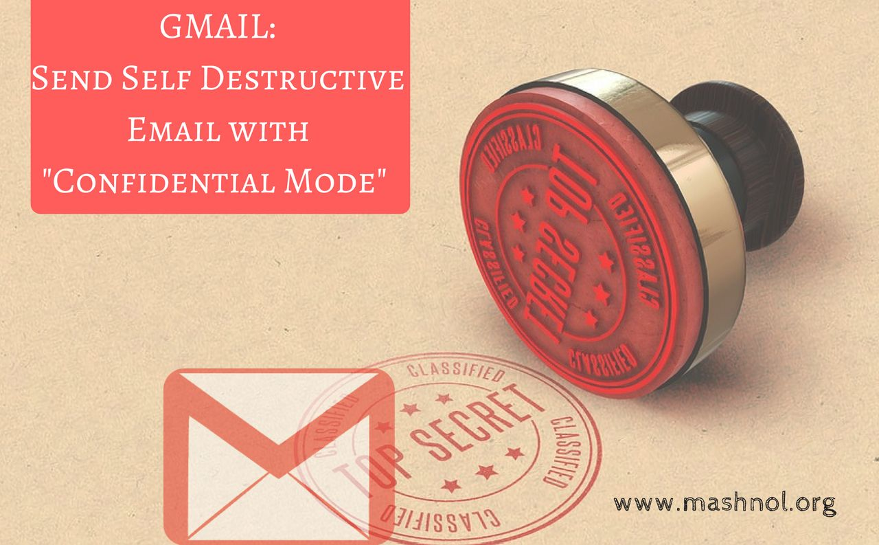 Send secure encrypted email in Gmail with Confidential mode
