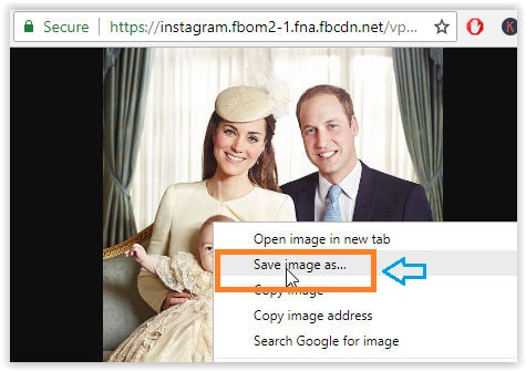 Download instagram photos without using any tool Android PC iPhone