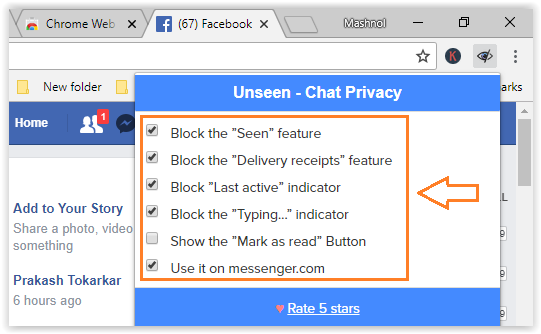 Hide Last Seen and Last Active Time on Facebook Chat