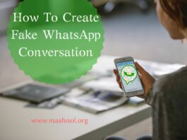 How To Create Fake WhatsApp Conversation on Android iPhone