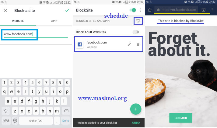 How to Block webiste on Google Chrome on Android