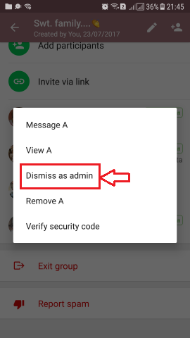 How to Change WhatsApp Group Admin or Add More Admins