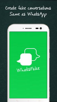 WhatsFake Create Fake Whatsapp conversation on Android