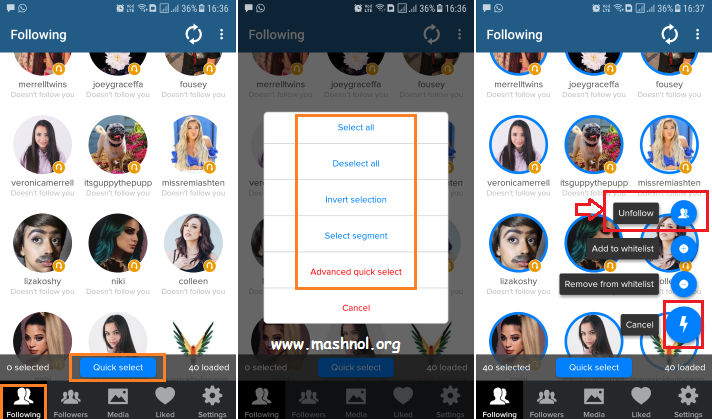 Cleaner for IG- Mass Unfollow on Instagram Fast