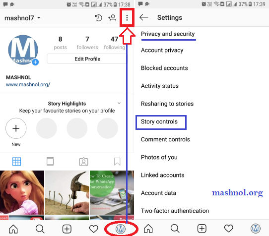 How to hide your Instagram Story from Certain followers