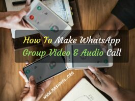 Make WhatsApp Group Video & Audio Conference Call iPhone Android