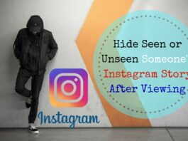 Hide Seen or Unseen Someone's Instagram Story After Viewing them