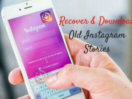 How to find and recover Your Old Instagram Stories