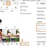 Make Instagram Account Private
