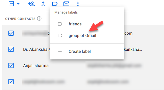 How To Create A Group Mailing List In Gmail