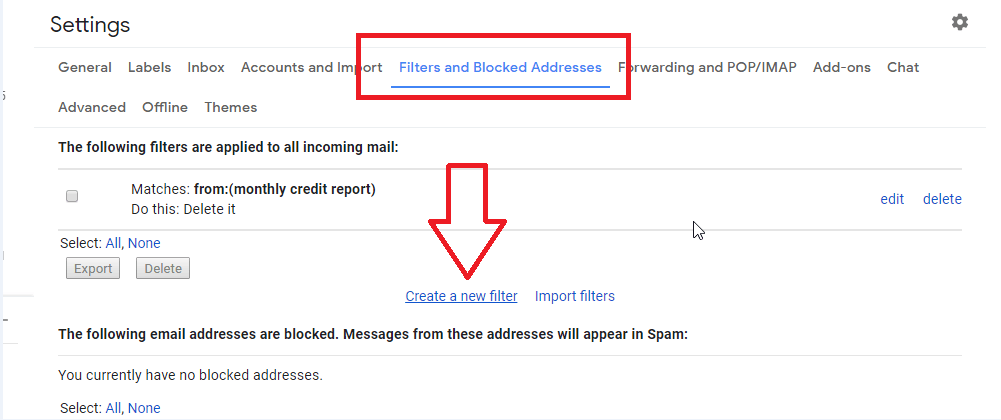 How To Create Filters Rules In Gmail