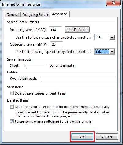 How to Configure Gmail Account in outlook
