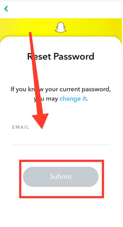 How to change or recover My eyes Only Password in Snapchat