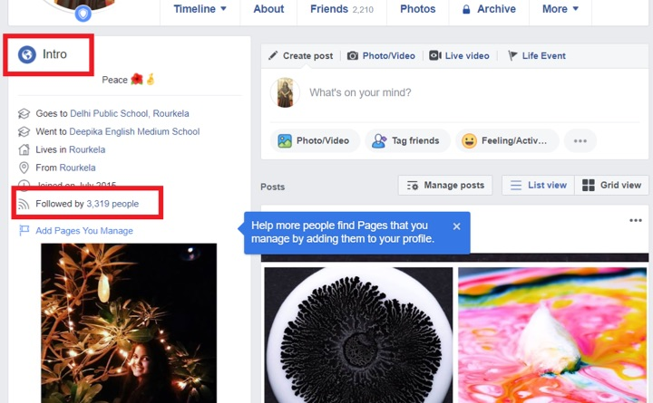 How to see who is following you on Facebook