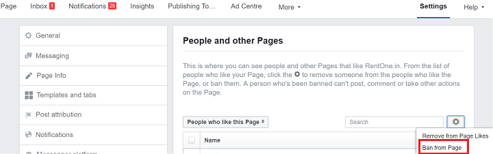 How to Ban Someone from Facebook Page