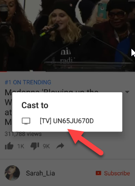 How To Cast Youtube To Tv