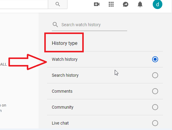 How To Delete YouTube History
