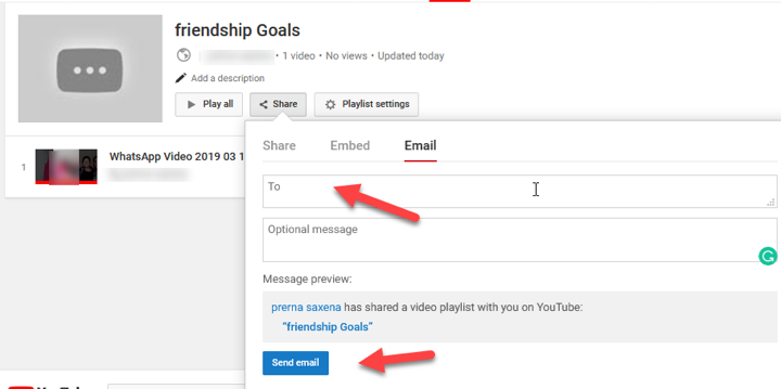 How To Share A Youtube Playlist