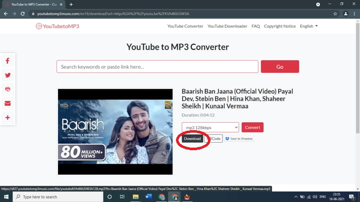 How to download songs from YouTube into MP3 files